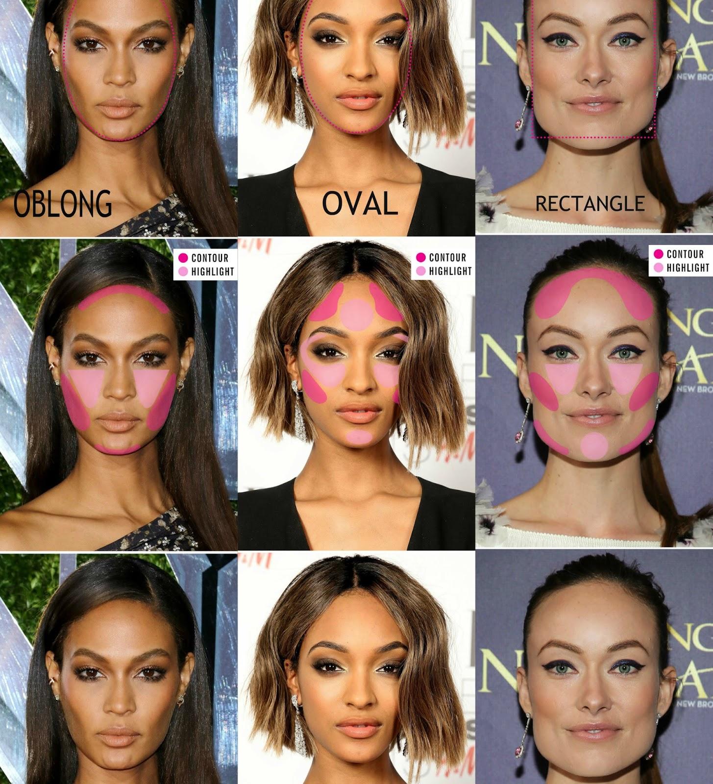 Body contouring makeup