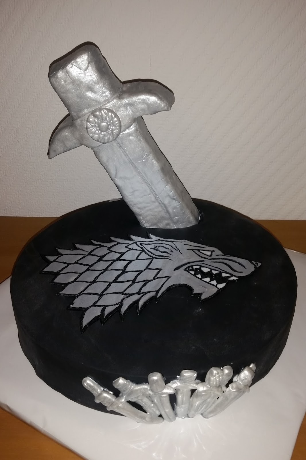 Sandy S Kitchendreams Game Of Thrones Kuchen