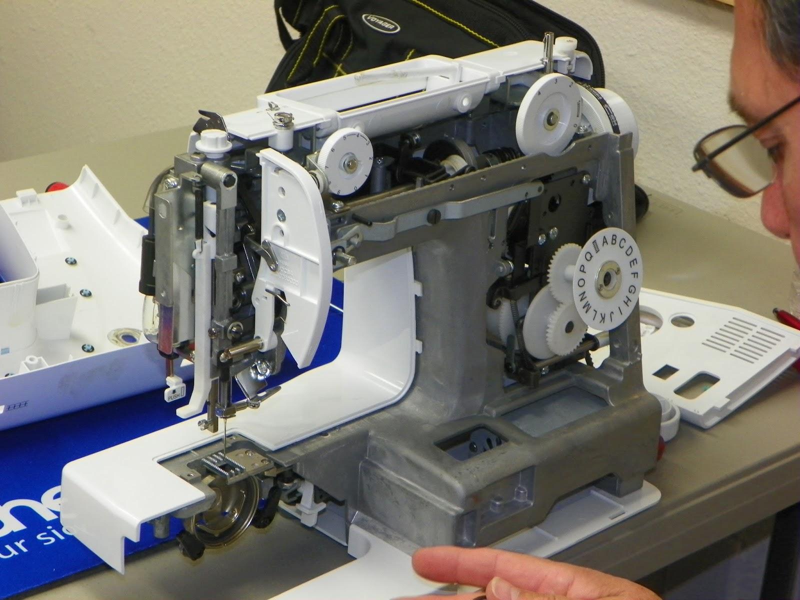 Sewing Machine Repair: 7/19/15 - 7/26/15