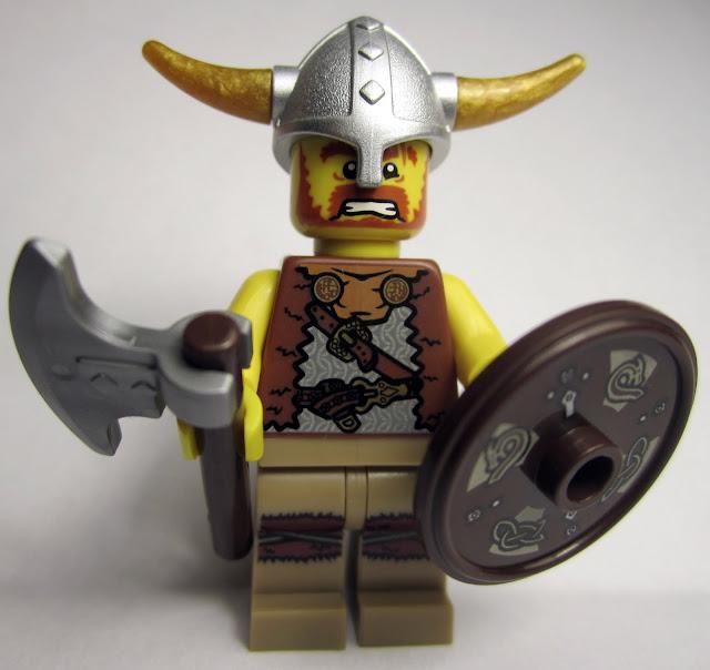 The Brick Brown Fox: Lego Minifigures Series 4 - Viking