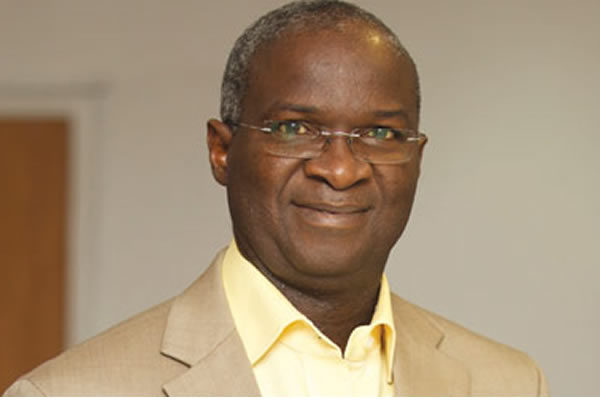 Some influential people do not pay for power - Fashola