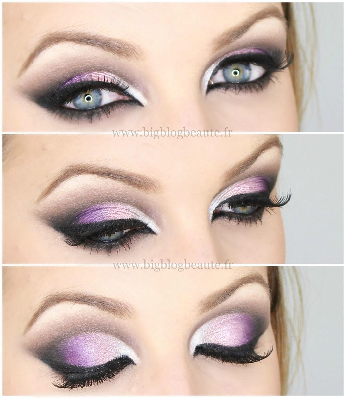 Arabic Inspired Tutoriel Maquillage Violet Big Blog Beaut 233