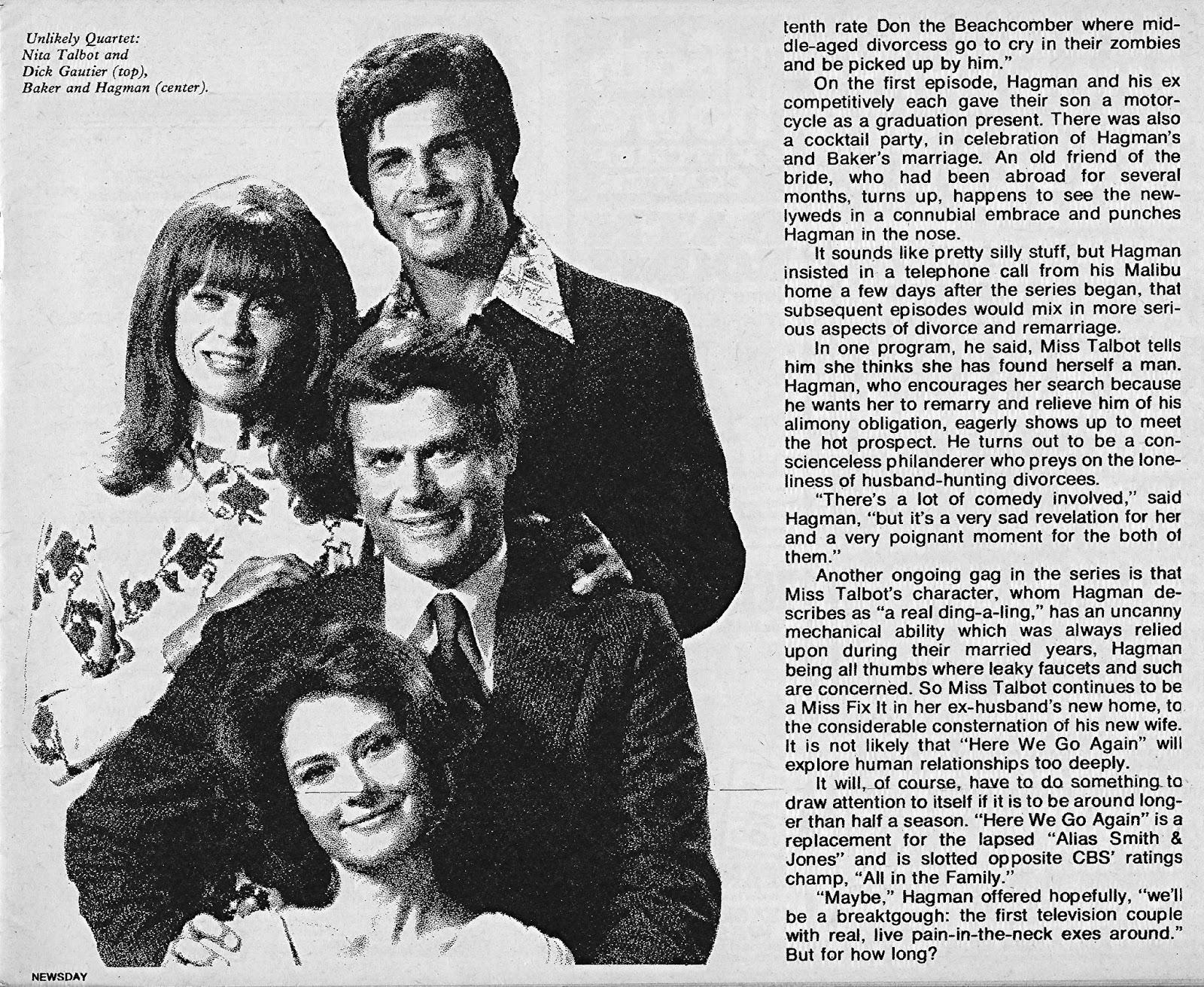 don't parade in my rain: Newsday TV Books, February 1973
