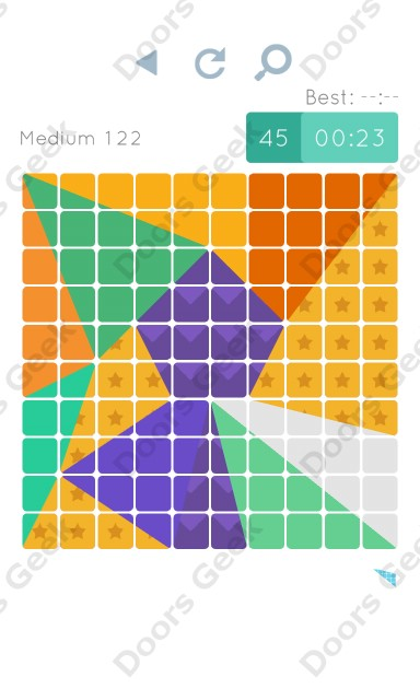 Cheats, Walkthrough for Blocks and Shapes Medium Level 122