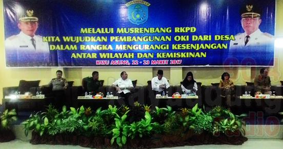 Musrembang RKPD OKI Th2018 'Mengurangi Kesenjangan Antar Wilayah Dan Kemiskinan'