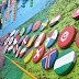 Kampung Warna Warni Kena Demam Piala Dunia