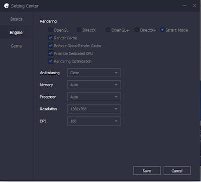 Seting EMulator Terbaik Tencent Gaming Buddy