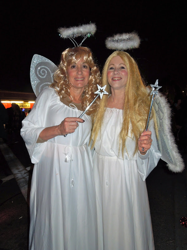 West Hollywood Halloween Carnaval angels