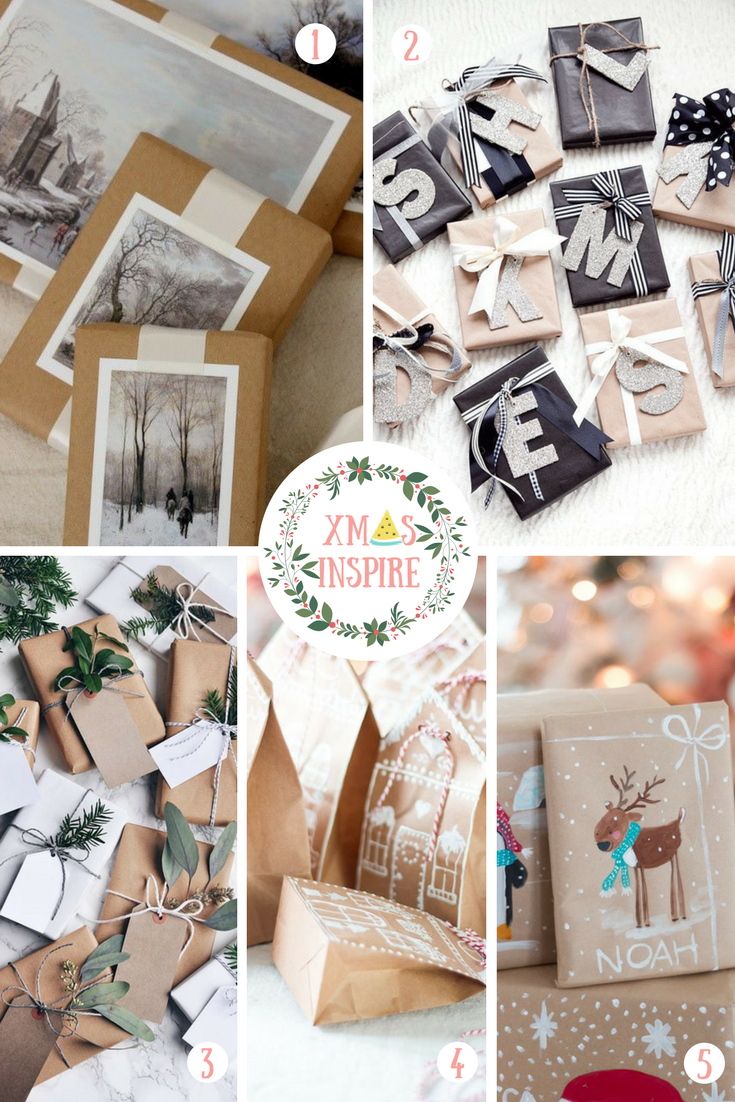 Fav Board #3: Christmas inspirations for wrapping