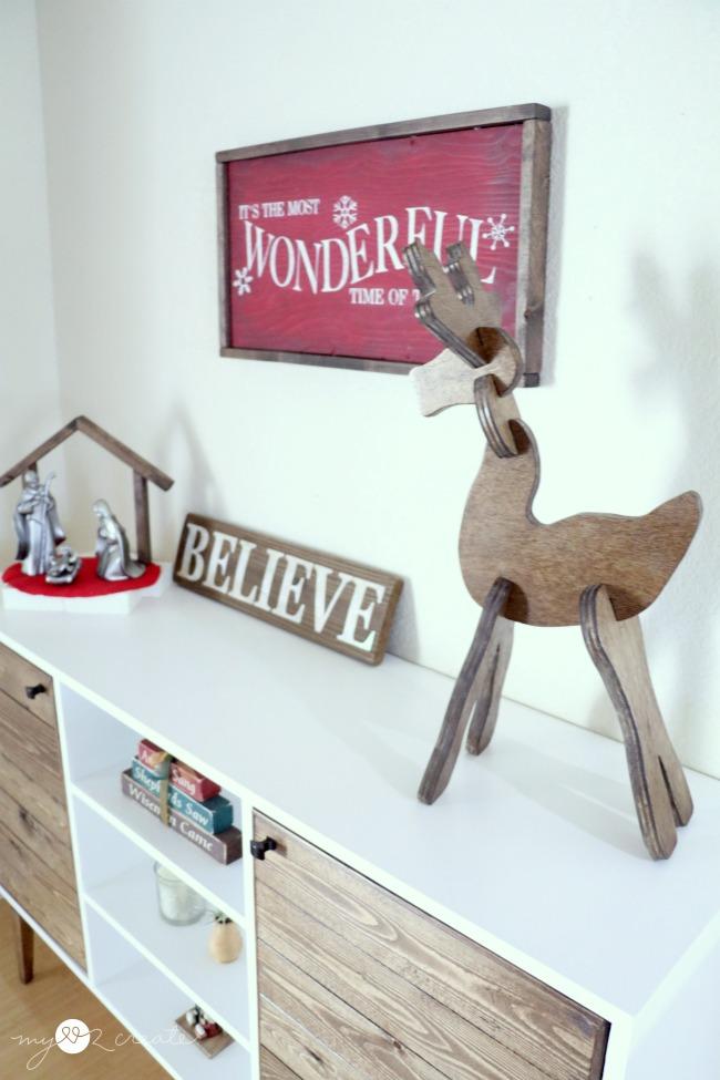 easy reindeer puzzle