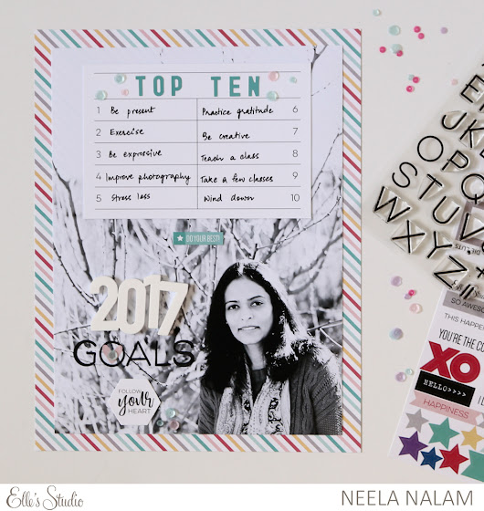 Elle's Studio January Kit Projects