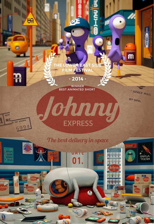 Johnny Express  - Cortometraje animación - poster