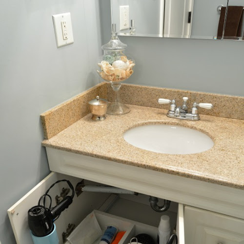 How To Build A Bathroom Vanity Sliding Shelf