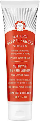 image result First Aid Beauty First Aid Beauty - Skin Rescue Deep Cleanser With Red Clay