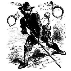 Goetia - Barbatos (ilustração)