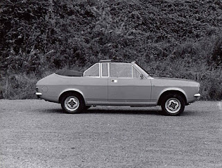 Morris Marina convertible by Mumfords
