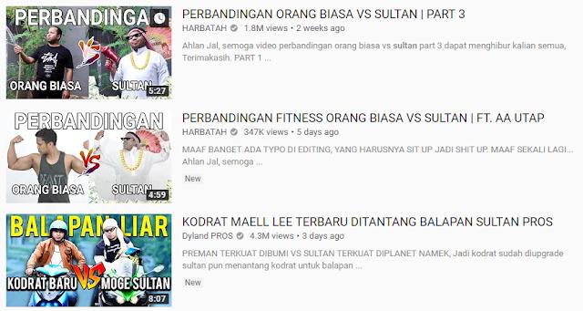 Memahami Sebutan Sultan di YouTube