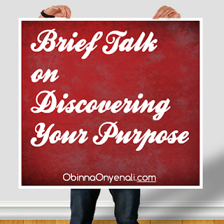 Motivational article on how to discover your purpose