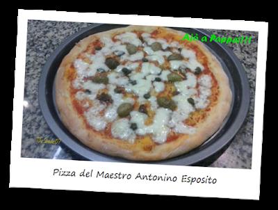 Immagine della ricetta della pizza del Maestro Antonino Esposito