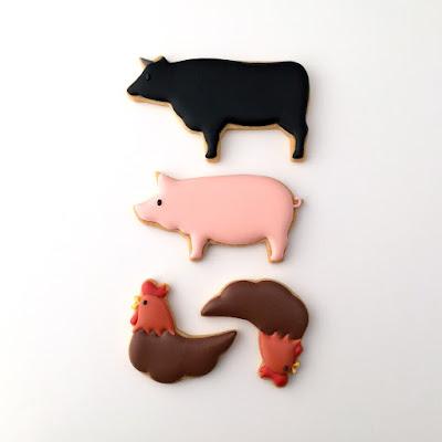お肉クッキー