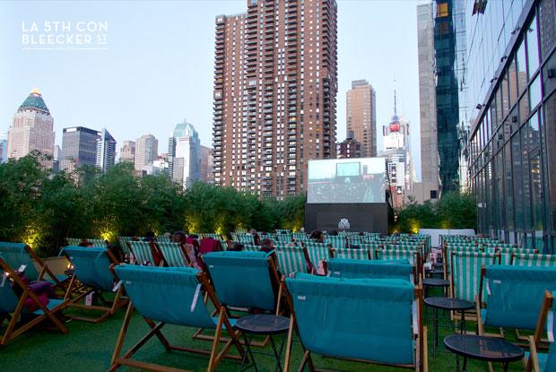 mejores terrazas de Nueva York yotel hotel