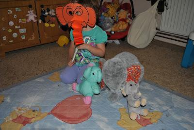 masca elefant