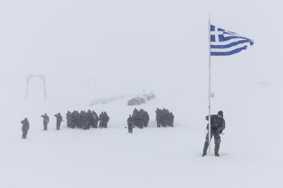 Επιχειρησιακή Εκπαίδευση Ειδικών Δυνάμεων στο χιονι