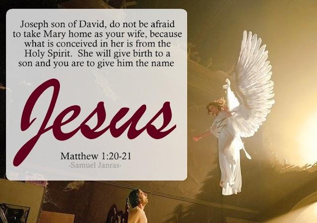 Holy Spirit - Christmas Bible Verse