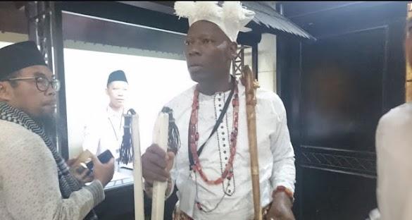Jadi Mualaf, Kepala Suku Asal Afrika Ini Hadiri Pertemuan Ulama di Jakarta