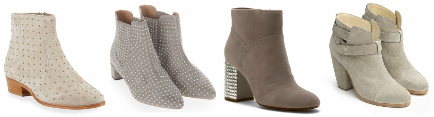 Three of these pairs of studded boots are for $ 200+ and one is from Topshop for $65. Can you guess which one is the less expensive pair? Click the links below to see if you are correct!