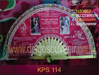 souvenir kipas undangan sablon foto full color
