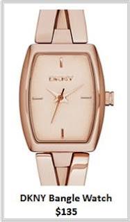 Sydney Fashion Hunter - Rose Gold - DKNY Bangle Watch