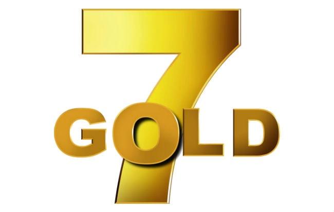 Il logo dell'emittente televisiva 7Gold