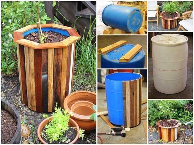 El blog de la elena un blog dulce divertido y for Reciclaje para jardin