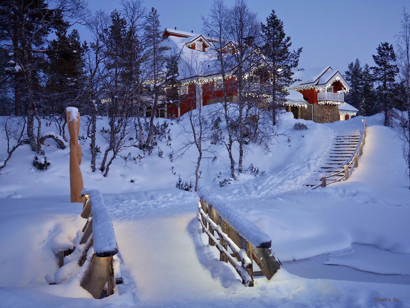 Celebration House, Igloo Village, Kakslauttanen, Finland
