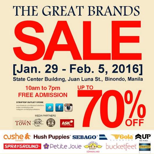Buy Sports Brands in the Great Brands Sale 2016 in Binondo