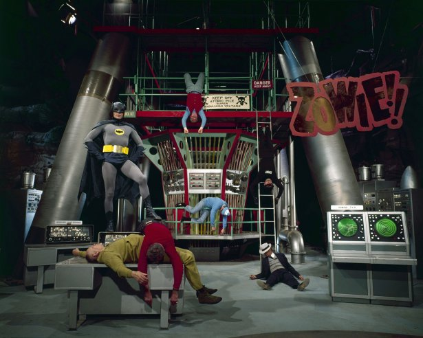 Behind the Scenes on the 'Batman' TV Show in 1966