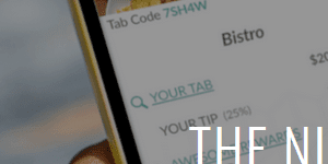 TabbedOut payment app interface