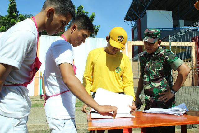 Ratusan Pemuda Bersaing Jadi TNI AD dari Sub Panda Bone