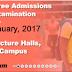 EKSU 2016-17 4th Batch Pre-Degree Entrance Exam Schedule