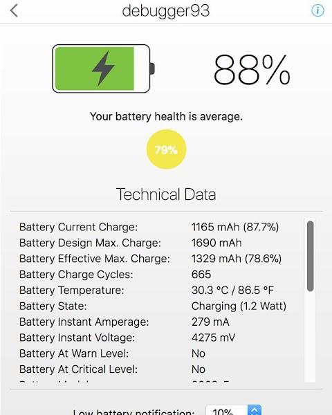Sharing Baterai Iphone dan Data Teknisnya