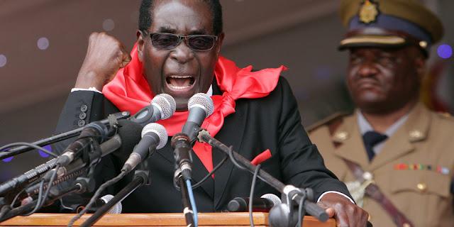 Ditador comunista do Zimbábue manda prender atletas que não ganharam medalhas nas Olimpíadas