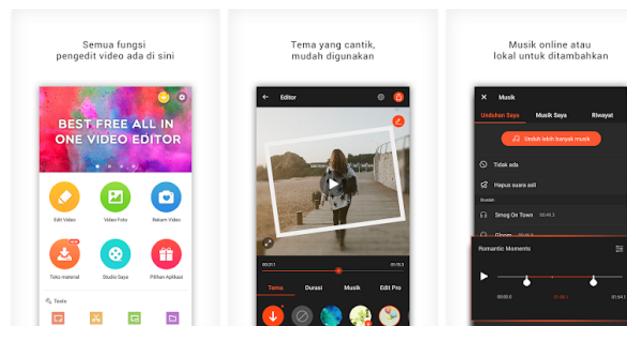 Aplikasi Edit Video Di Android Terbaik Sebelum Upload Ke Youtube