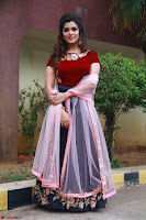 Actress Aathmika in lovely Maraoon Choli ¬  Exclusive Celebrities galleries 077.jpg