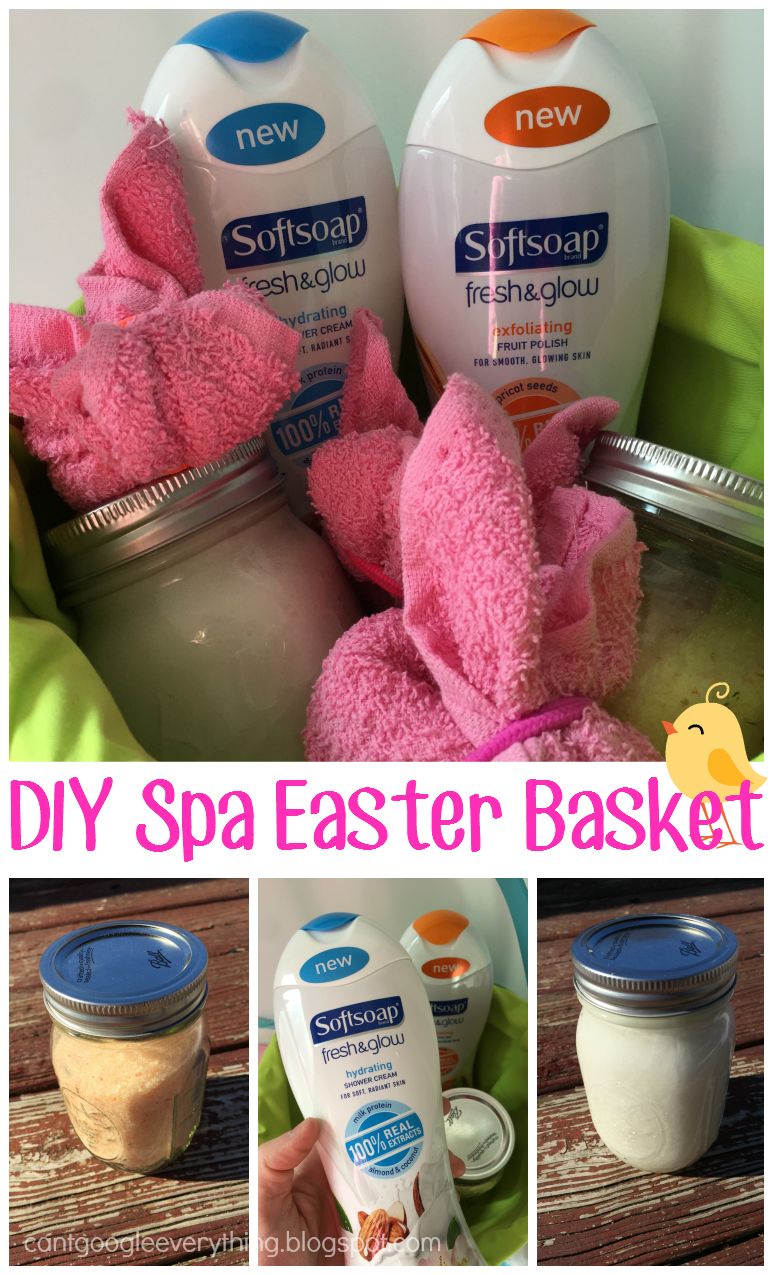 Easy Spa Easter Basket DIY from @blogginginpa