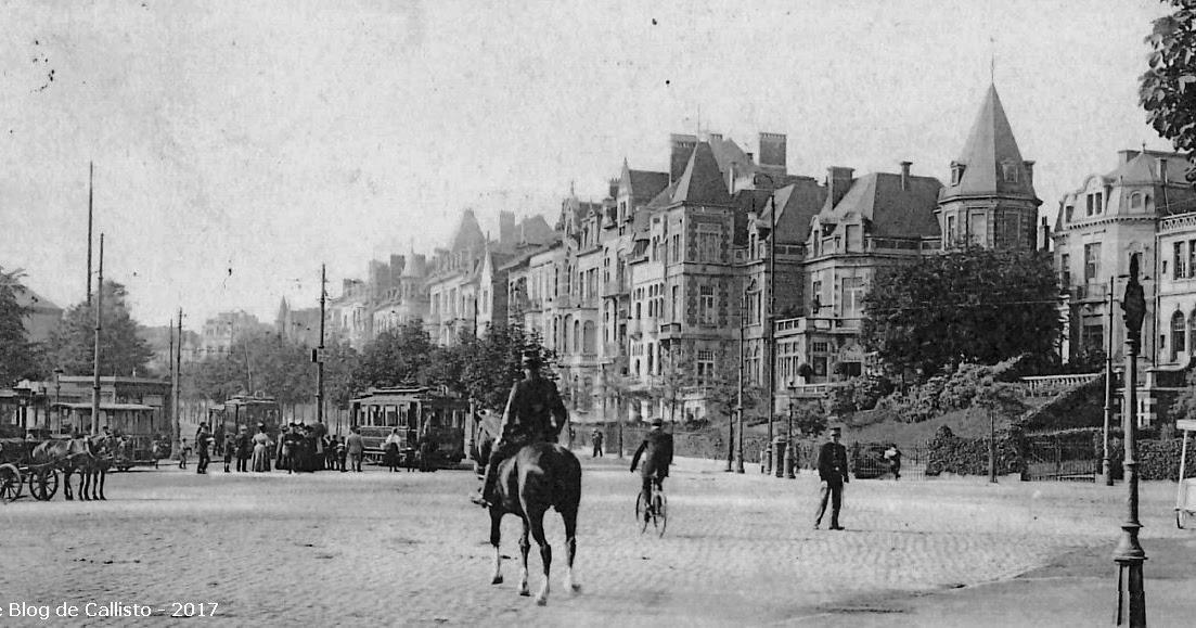 Le Blog de Callisto: L'Europe en anciennes cartes postales: Bruxelles et ses tramways (série 10)