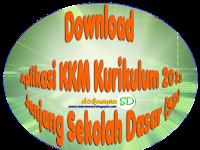 Download Aplikasi KKM Kurikulum 2013 Jenjang Sekolah Dasar (SD)