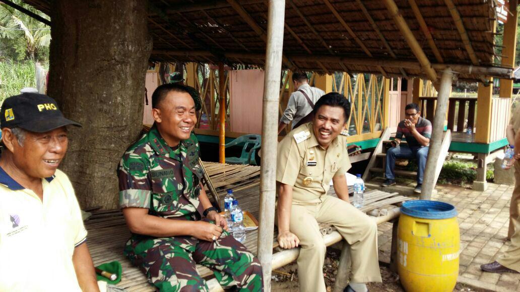 Sambut HUT TNI Ke 71, Kodim 1422 Maros Sosialisasi  Nilai Nilai Pancasila