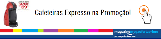 Cafeteiras Expresso na Promoção