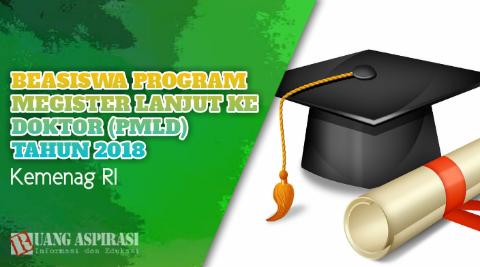 Info Terbaru Program Beasiswa S2 dan S3 tahun 2018